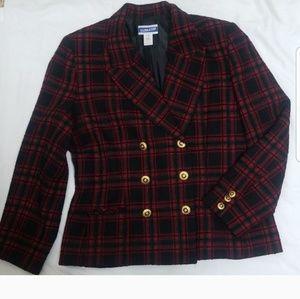 Pendleton Vintage Dbl Breasted Blazer Size 14